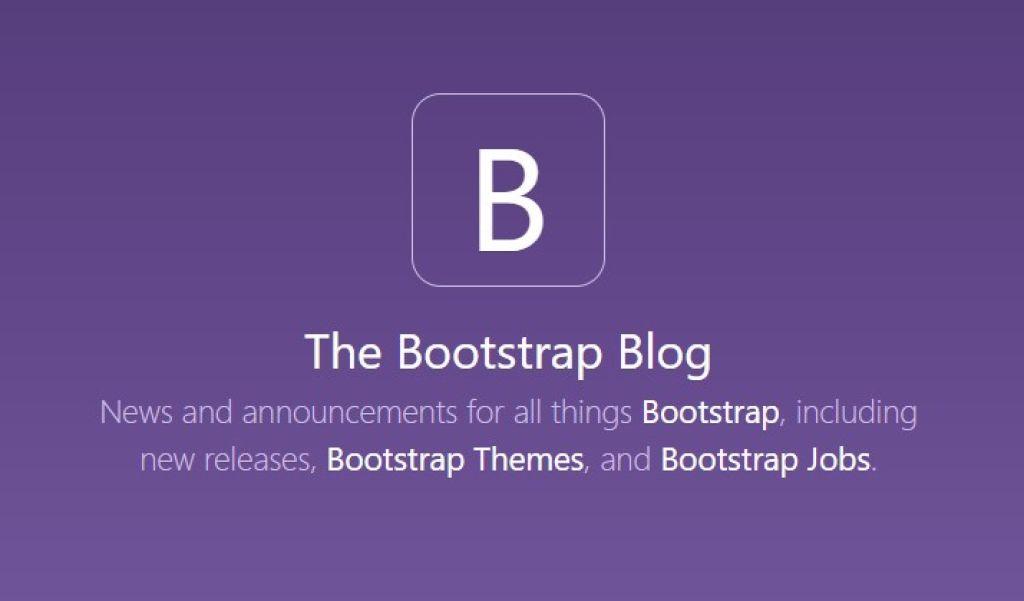 【系統更新】本站已更新 Bootstrap 版本至 4.1