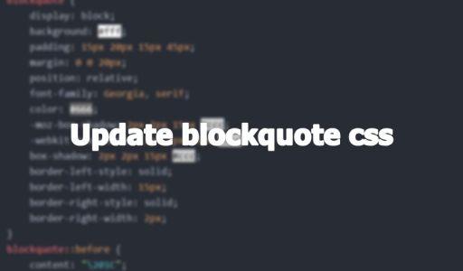 【系統更新】更新 blockquote 樣式 - 封面圖