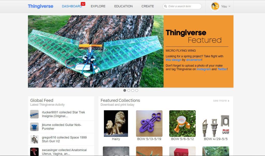 3D 列印時代,免費開放式 3D 模型抓取平台 Thingiverse