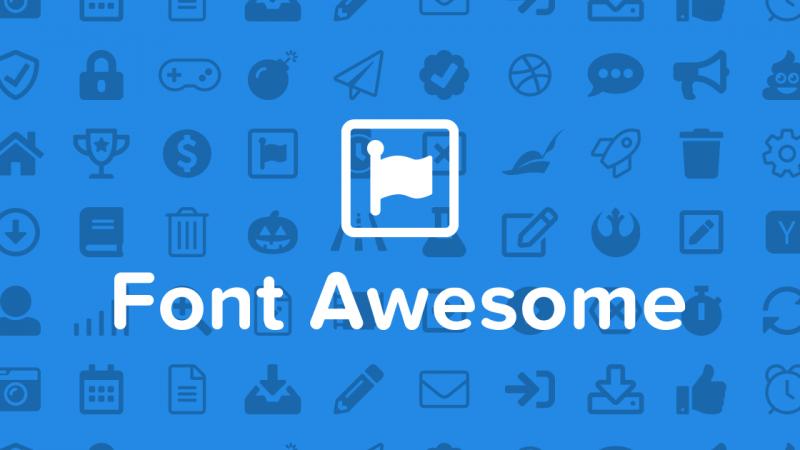 【系統更新】更新 Font Awesome 版本至 5.0.13 - 封面圖